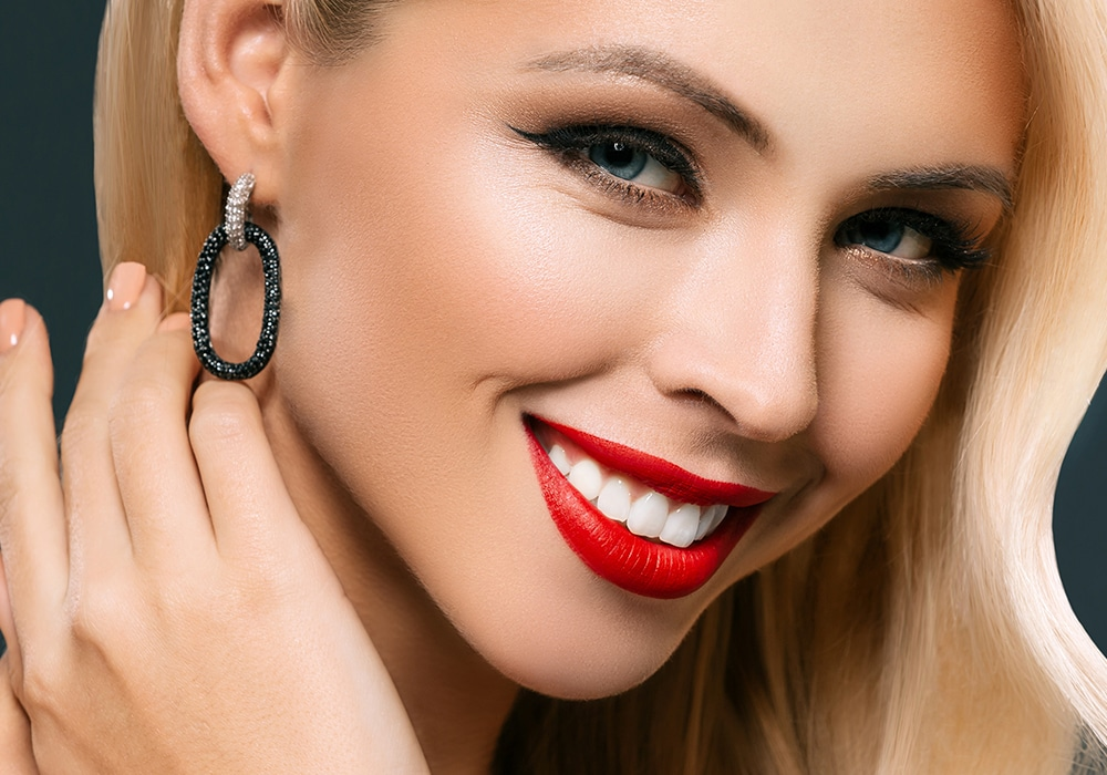 Cosmetic Dentistry Smiling Woman Smiling