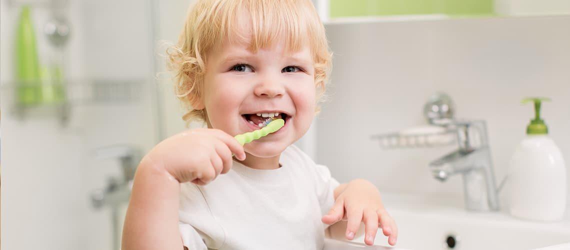 Children's Dentistry - Child Brushing Teeth