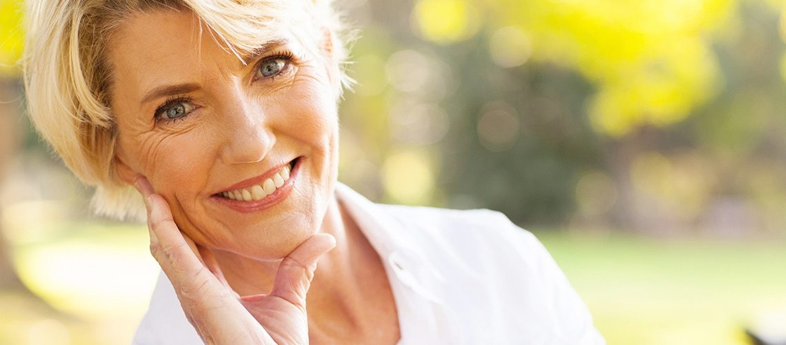 Smiling Woman Amalgam Removal